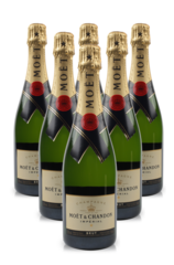 Holiday 6 Pack Moet & Chandon Brut