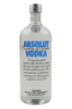 Absolut Blue 1L Vodka Bottle