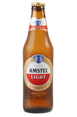 24 x Amstel Light Beer Bottle Case 355ml