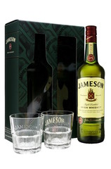 John Jameson Irish Whiskey 700ml Gift Pack with 2 Glasses