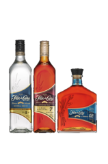 Flor de Caña Aged Collection 3 Bottle Gift Pack (3 x 375ml)