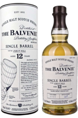 Balvenie 12 Year Old Single Barrel (First Fill) 700ml w/ Gift Box