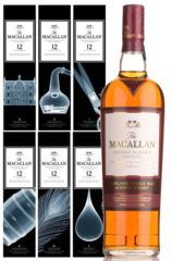 Macallan Whisky Maker's Edition - X-Ray Box - Set of 6 Pillars