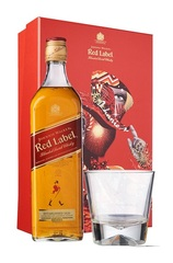 Johnnie Walker Red Label 700ml w/ Gift Box and 1 Glass
