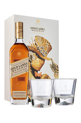 Johnnie Walker Gold Label 700ml w/ Gift Box and 2 Glasses