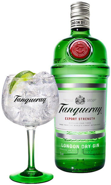 Tanqueray Gin 700ml w/ Gift Box and 1 Copa Glass