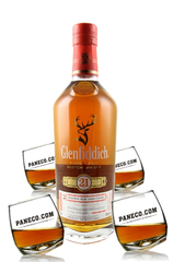 Good Luck Glenfiddich 21 & Rocking Glass Set