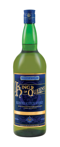 King of Queens 1L Gift Set w/Glasses