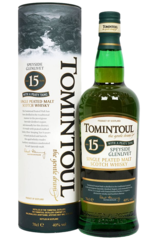 Tomintoul 15 Year Peaty Tang 700ml