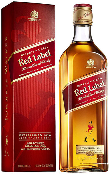 Johnnie Walker Red Label 750ml w/ Gift Box