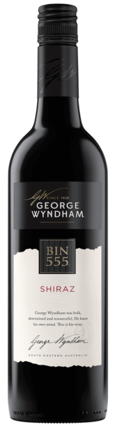George Wyndham Bin 555 Shiraz bottle