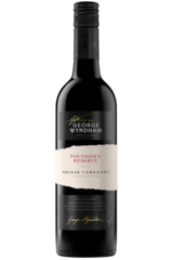 George Wyndham Shiraz Cabernet Bottle