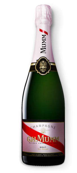 G. H. Mumm Rose Bottle