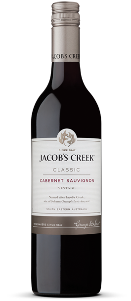 Jacob's Creek Cabernet Sauvignon  - Core Range 750ml