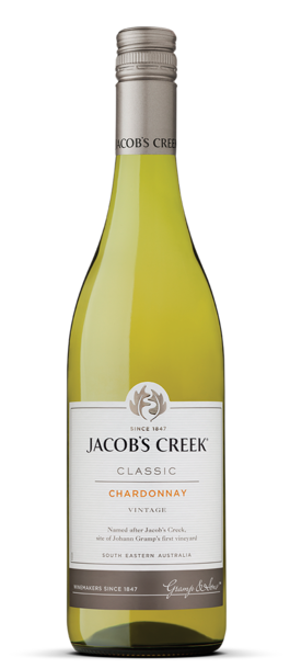 Jacob's Creek Chardonnay  - Core Range 750ml