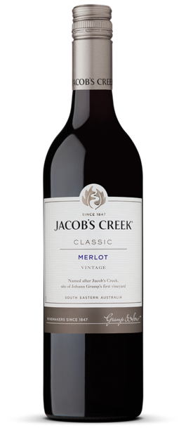 Jacob's Creek Merlot - Core Range 750ml