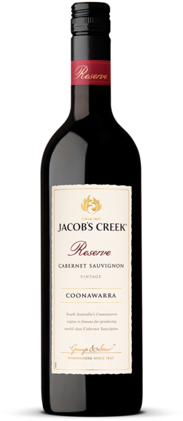 Jacob's Creek Reserve Cabernet Sauvignon Bottle