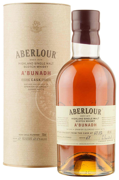 Aberlour A'Bunadh Batch 61 Single Malt 700ml w/ Gift Box