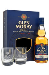 Glen Moray Classic Single Malt 700ml w/ 2 glasses
