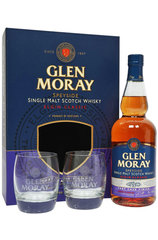 Glen Moray Port Single Malt 700ml w/ 2 glasses