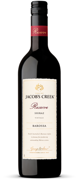 Jacob's Creek Reserve Shiraz Bottle