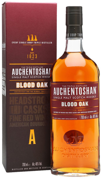 Auchentoshan Blood Oak 14 yr Single Malt 700ml w/ Gift Box