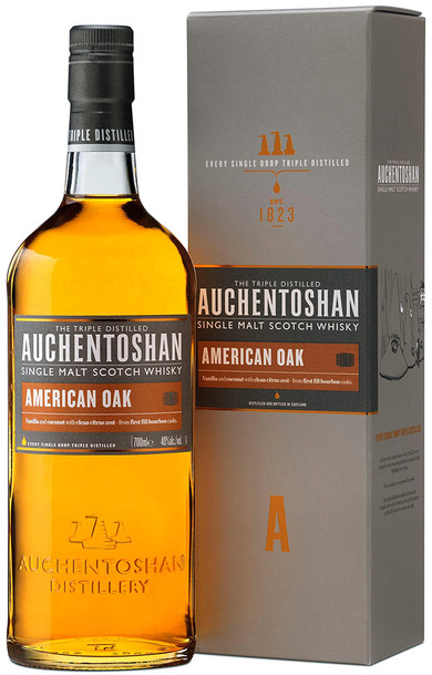 Auchentoshan American Oak Single Malt 700ml w/ Gift Box