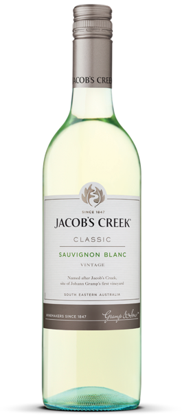 Jacob's Creek Sauvignon Blanc - Core Range Bottle
