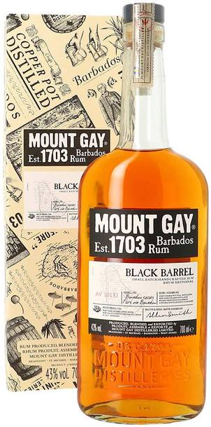 Mount Gay Black Barrel Rum 1L w/ Gift Box
