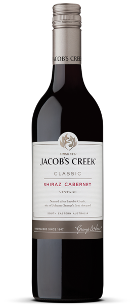 Jacob's Creek Shiraz Cabernet - Core Range Bottle