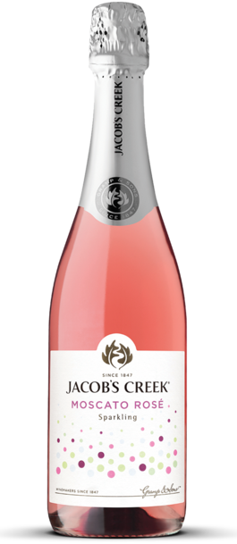 Jacob's Creek Sparkling Moscato Rose Bottle