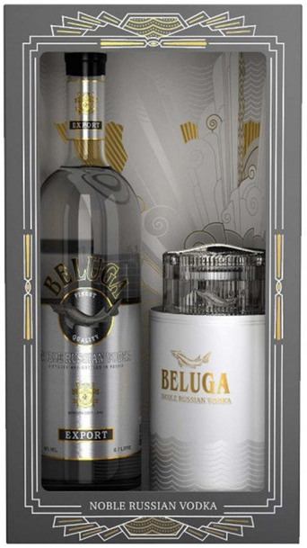 Beluga Noble Vodka 1L w/ Caviar Dish & Gift Box