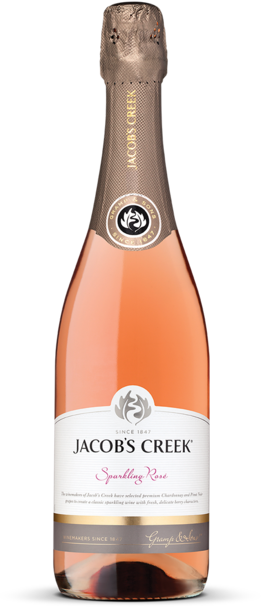 Jacob's Creek Sparkling Rose Bottle