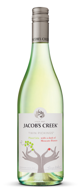 Jacob's Creek Twin Pickings Pinot Gris Bottle