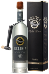 Beluga GOLD line 700ml w/Leather Gift Box