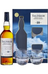 Talisker 10 Year 700ml w/ Gift Box and 2 Glasses