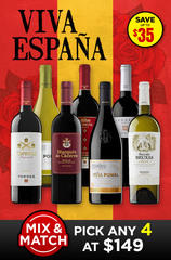 Viva Espana - Spanish Wine Mix & Match 4 Bottle Set