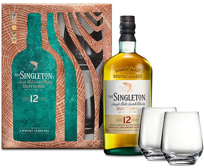 Singleton of Dufftown 12 Year 700ml with 2 Glasses
