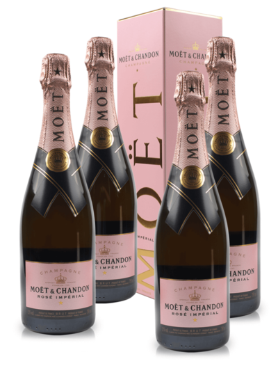 Moet & Chandon 4 Pack Rose Imperial Brut