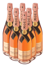 Moet & Chandon Nectar Imperial Rose 6 pack