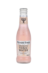 x 24 Fever-Tree Aromatic Tonic Water Bottle Case 200ml