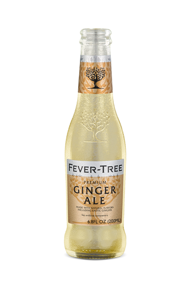 24 x Fever-Tree Ginger Ale Bottle Case 200ml