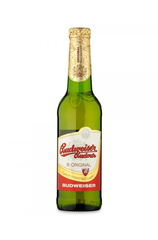 24 x Budweiser BUDVAR Beer Bottle Case 330ml