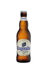 24 x Hoegaarden White Beer Bottles Case 330ml