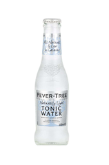 x 24 Fever-Tree Refreshingly Light Tonic Water Bottle Case 200ml