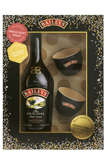 Bailey Irish Cream 700ml Gift Set + 2 Artisanal Ceramic Bowls
