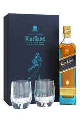 Johnnie Walker Blue Limited Edition 700ml Gift Set + 2 Glasses