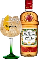 Tanqueray Flor de Sevilla 700ml Gift Set + Copa Glass