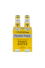 4 x Fever-Tree Indian Tonic Water Bottle 200ml