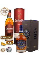 Best Seller Set - Glenfiddich 15 x Chivas Regal 18 w/ FREE Gift